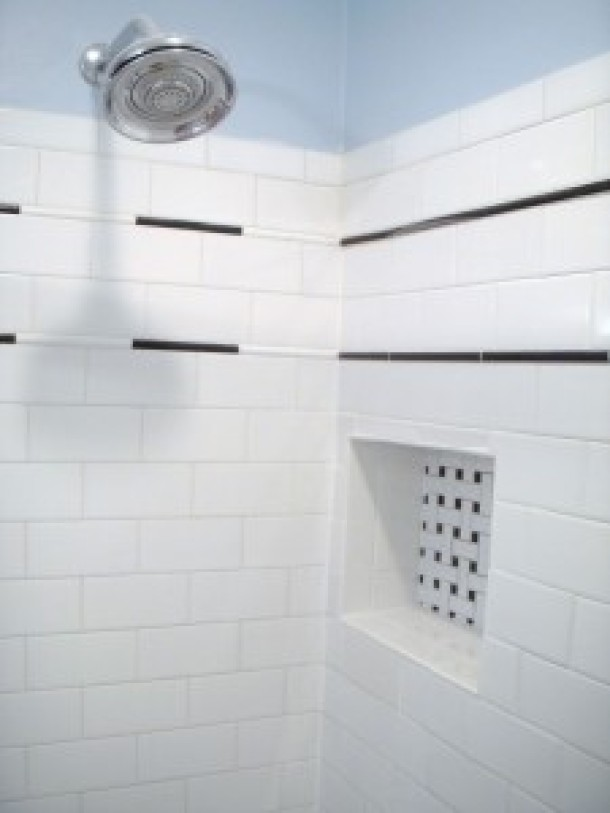 Lovely Subway tile accents - Tile Contractor | Creative Tile Works  FA38