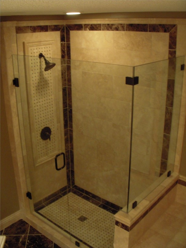 tiled shower stalls tile contractor creative tile