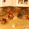 Natural stone backsplash pictures