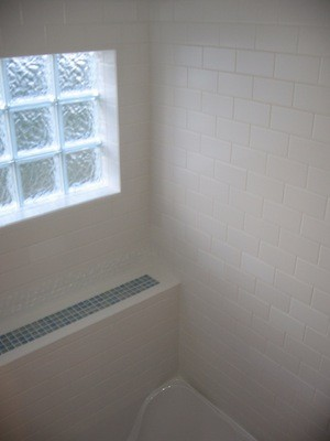 Glass Block Shower Window Tile Contractor Creative