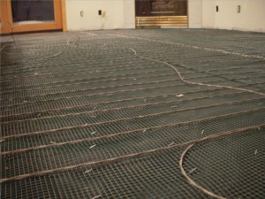 The importance of the tile underlayment tile contractor - How do heated bathroom floors work ...