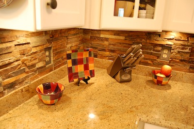 Natural Stone Backsplash natural stone backsplash pictures - tile contractor | creative